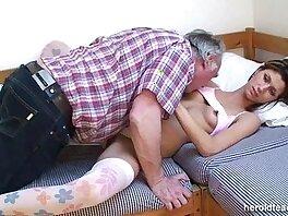beauty-old man-sleeping