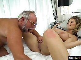 19 years old-ass-banged-grandpa